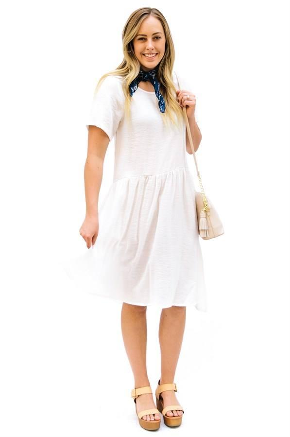 модные повседневные платья весна-лето 2019: белое