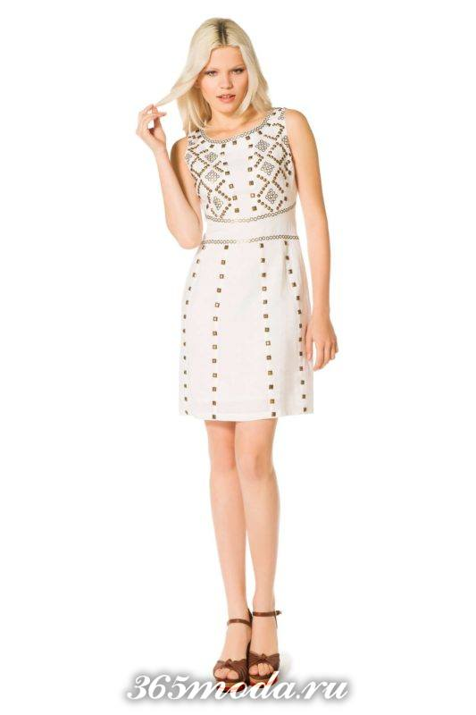 модный декор платьев