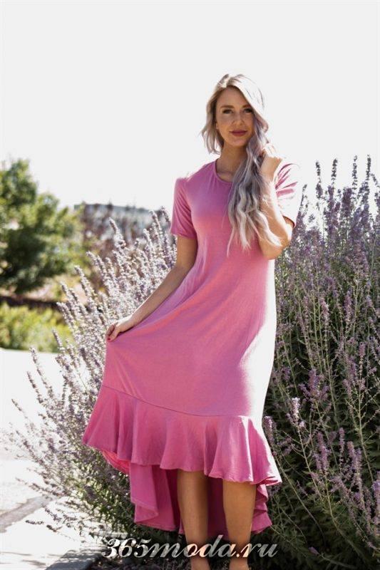 модная длина платьев