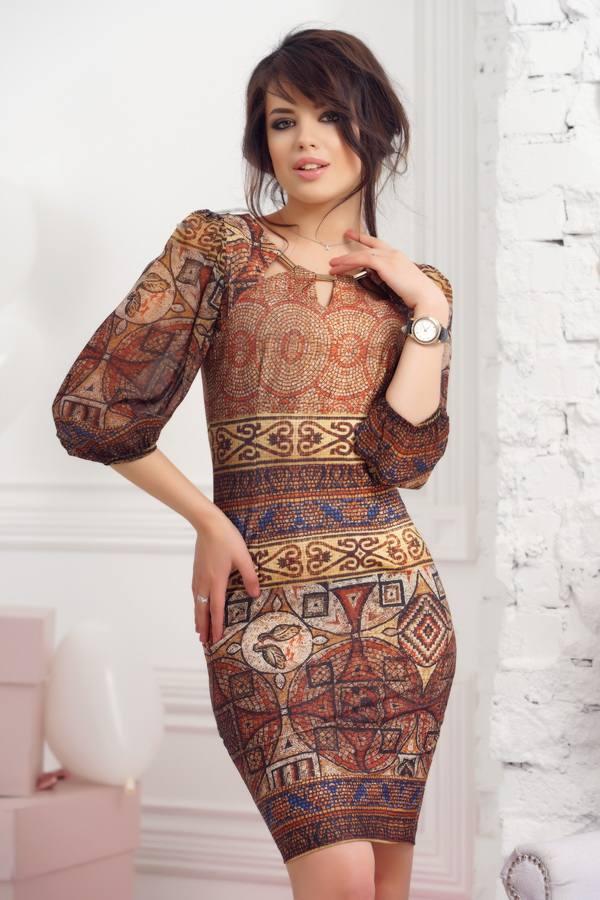 интересные принты платьев