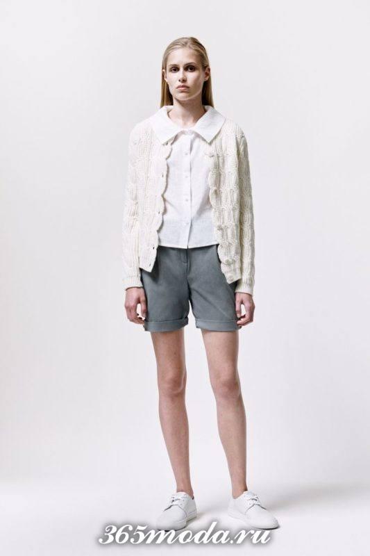 стильные классические шорты