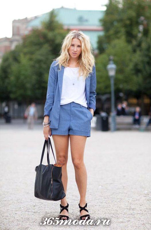 шорты в классическом стиле