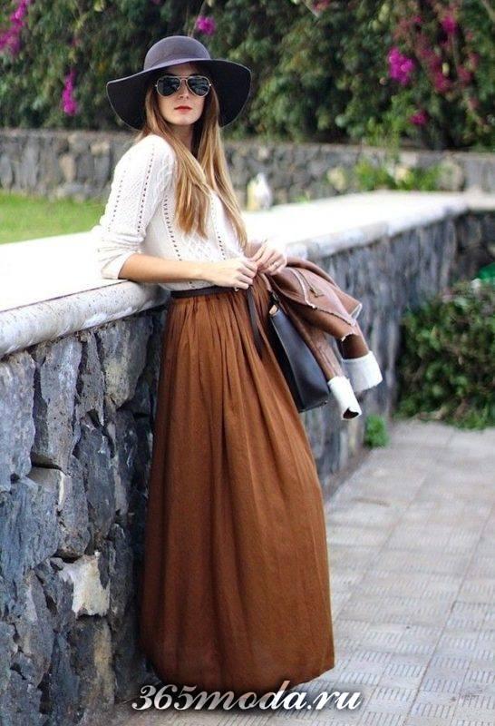 модные юбки макси