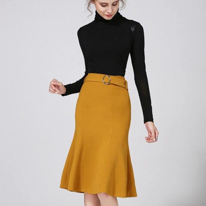 модные юбки сезона