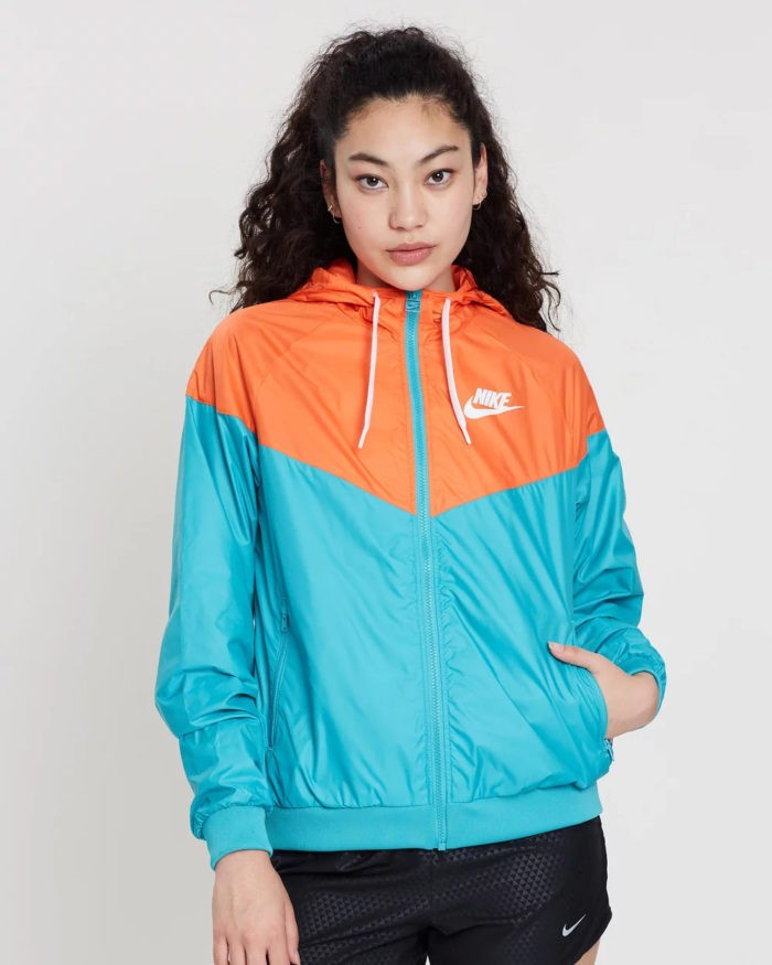 спортивная nike синяя с оранжевым
