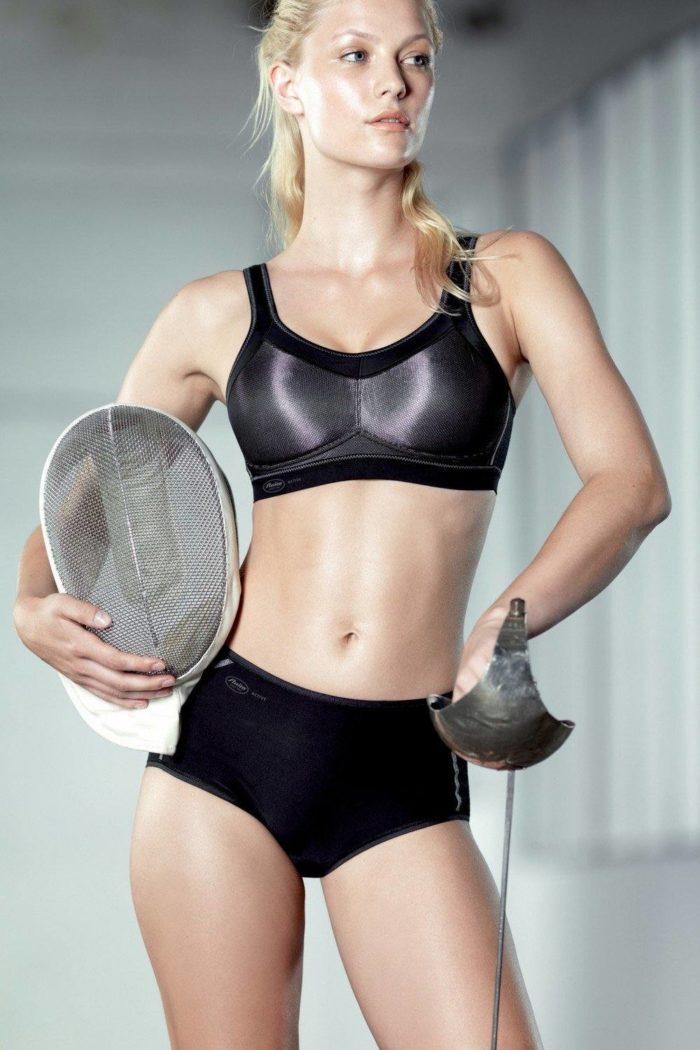нижнее спортивное белье черное