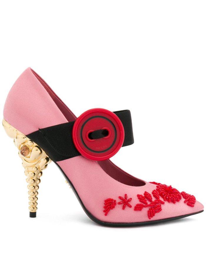 Женские туфли весна-лето 2020: розовые на шпильке