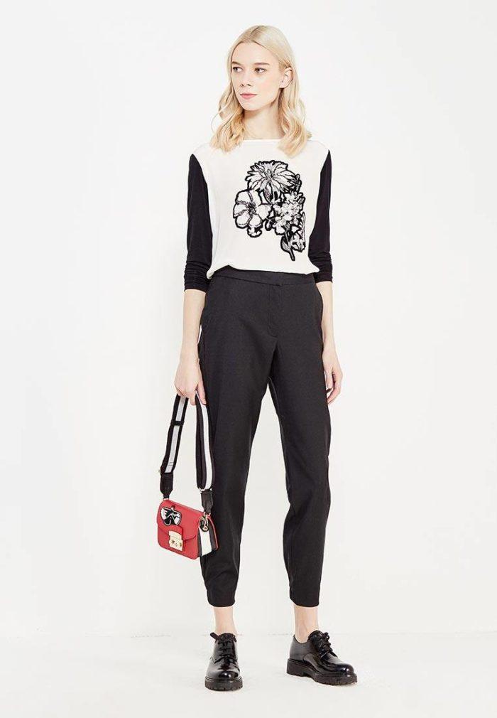 Базовый гардероб: черные брюки