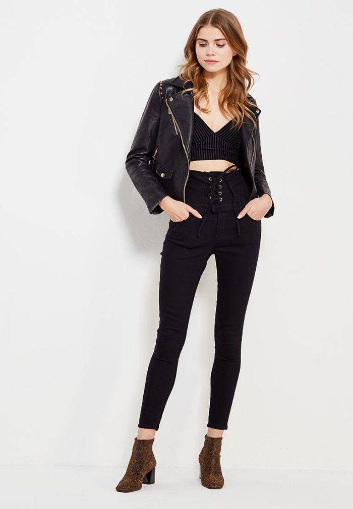 Базовый гардероб 2019-2020: джинсы скинни с высокой талией