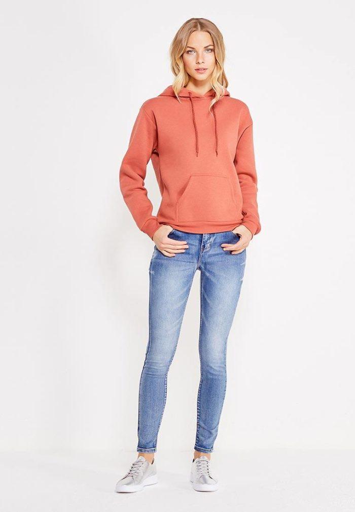 Базовый гардероб 2019-2020: джинсы скинни синие