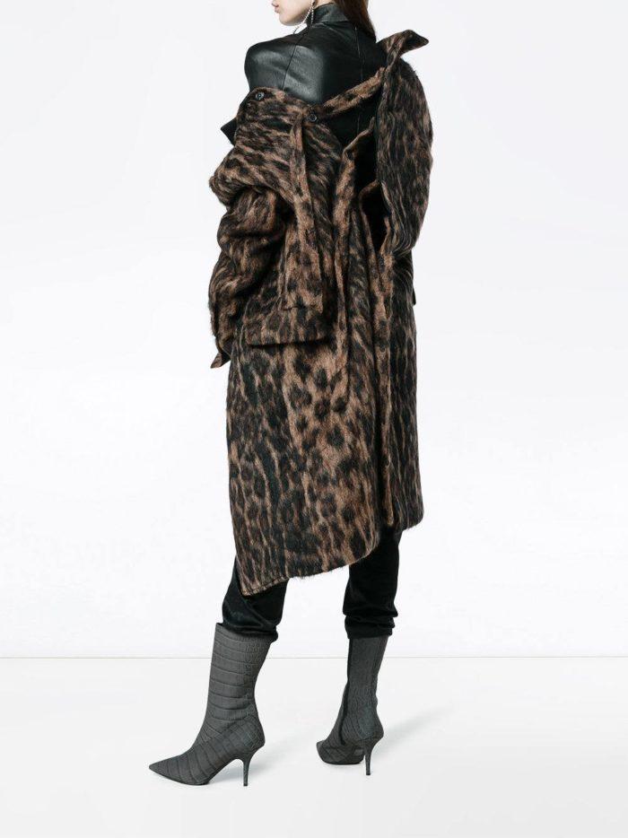 Базовый гардероб: леопардовое пальто