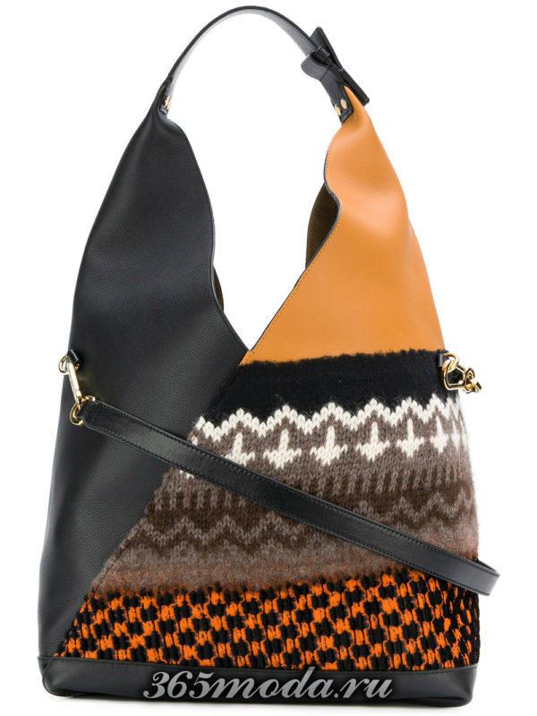 базовая комбинированная сумка