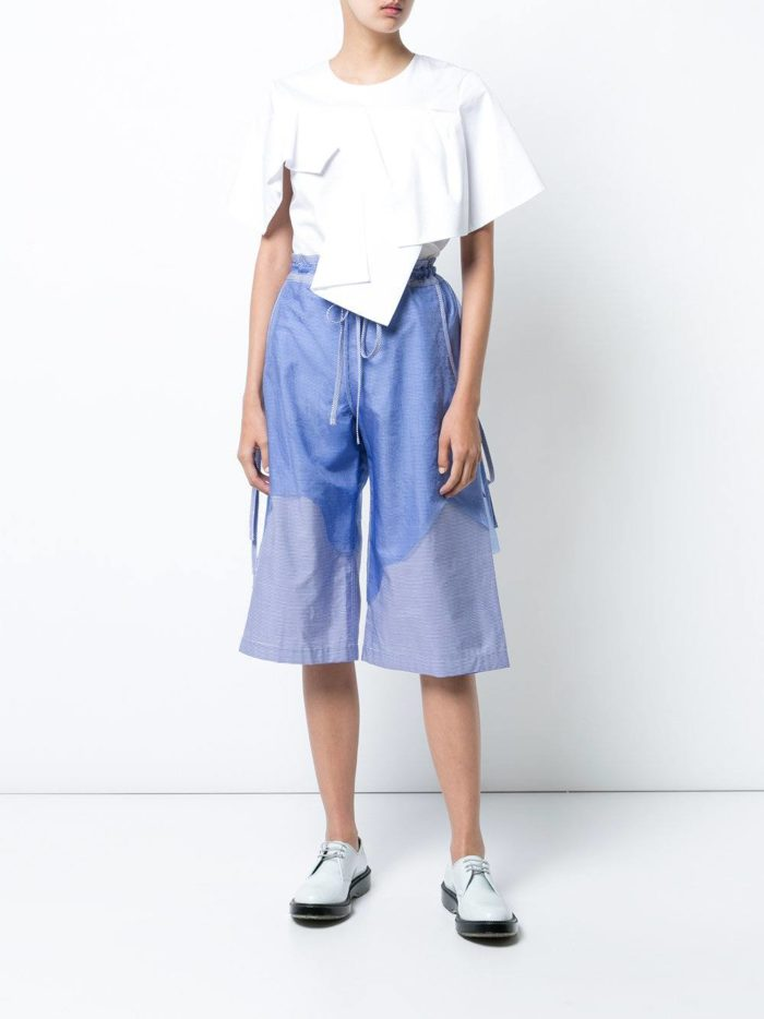базовые летние шорты за колено