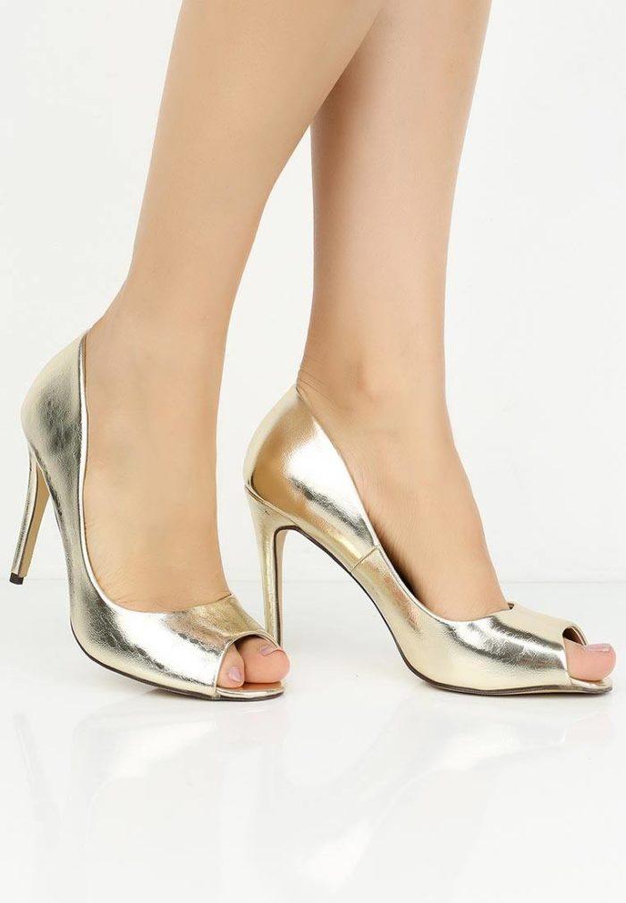базовые летние туфли с открытым носком