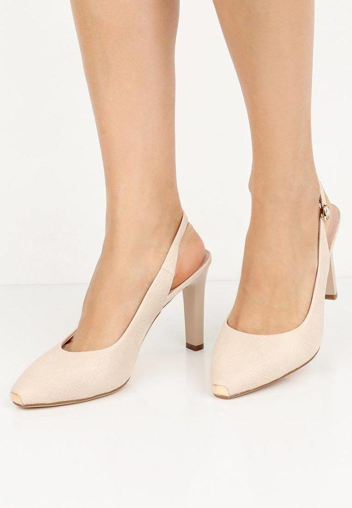 базовые летние туфли с открытой пяткой