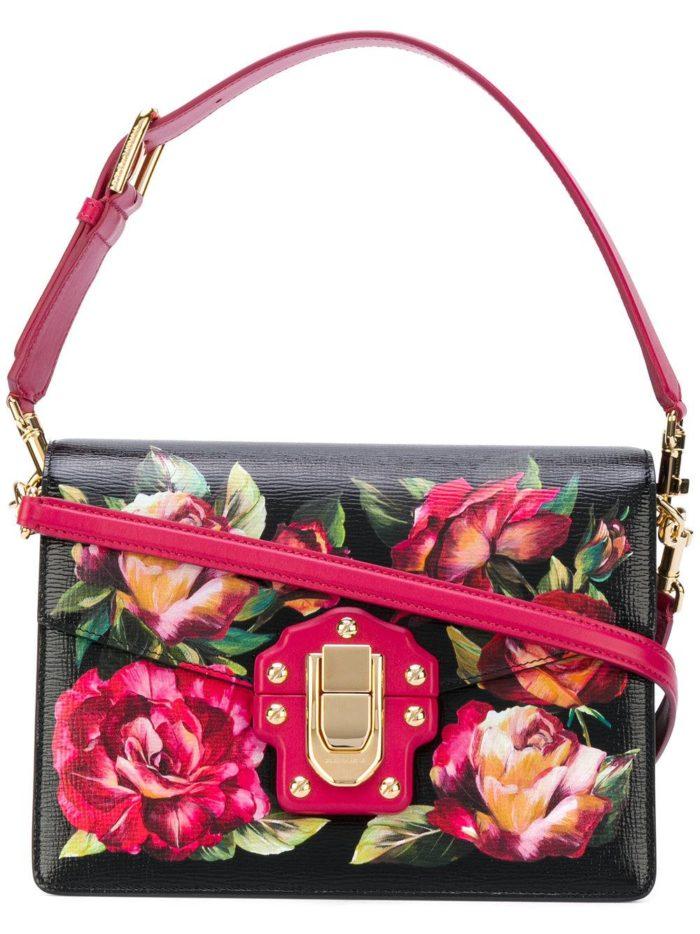 базовая летняя с принтом сумка через плечо