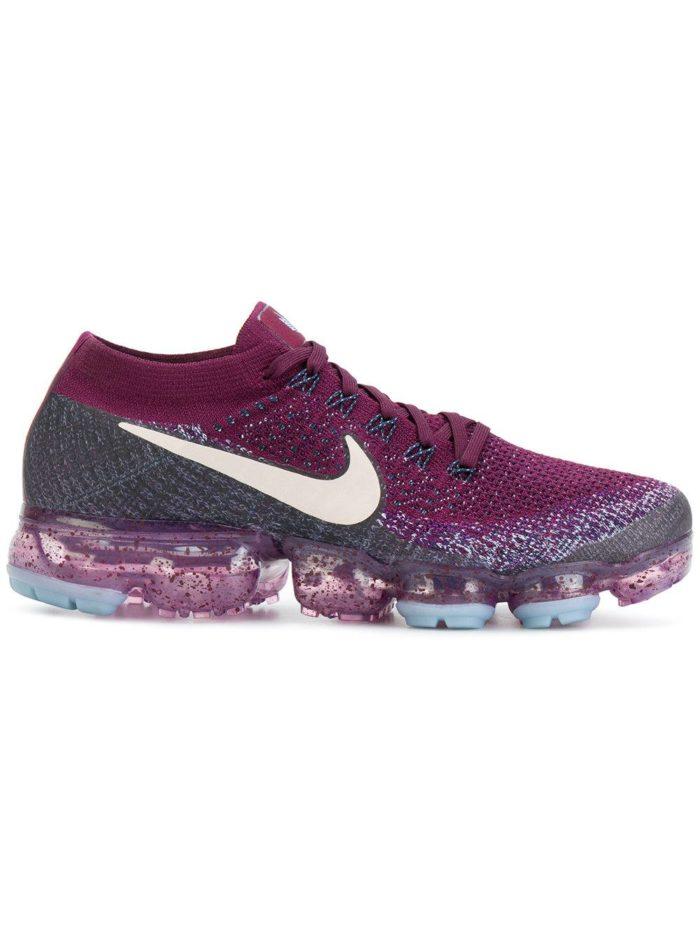 брендовые фиолетовые кроссовки