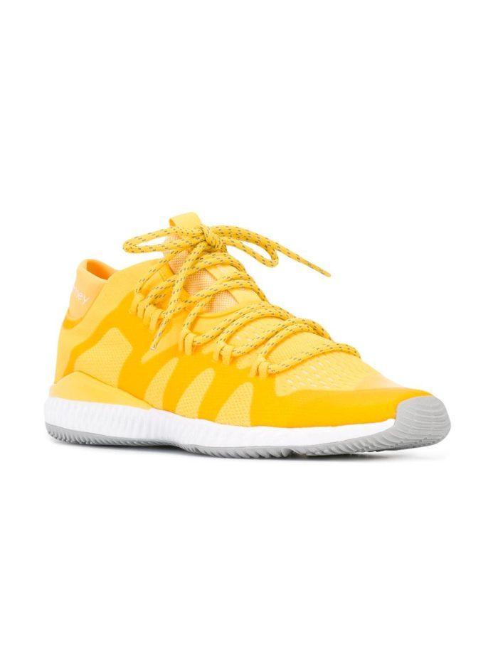 кислотные кроссовки желтые