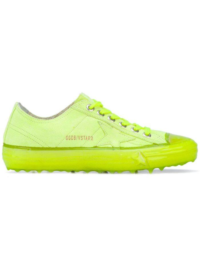 кислотные кроссовки зеленые