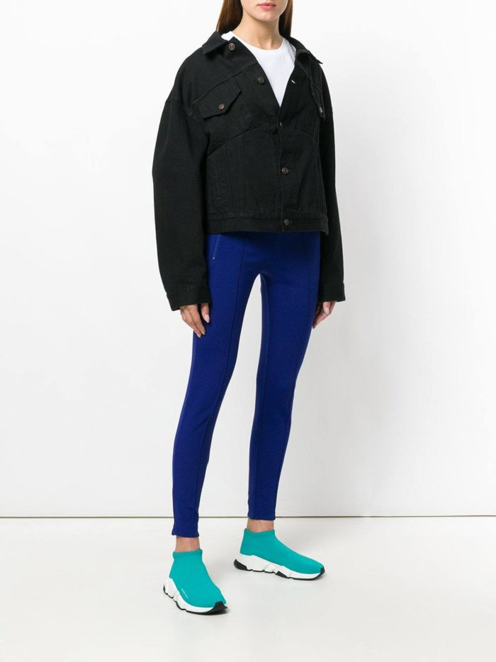 куртка оверсайз осень-зима с кроссовками