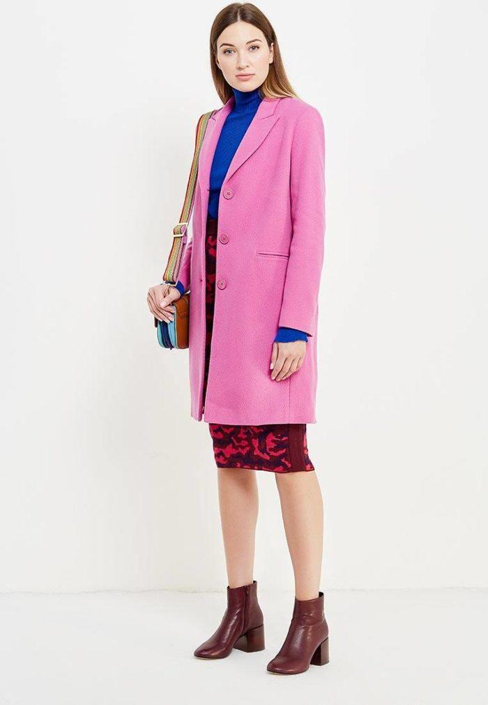 Модные сеты 2019-2020: с розовым классическим пальто
