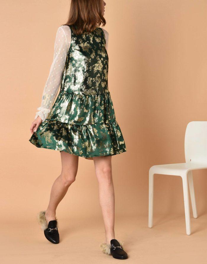 Модные сеты: с коротким платьем с принтом