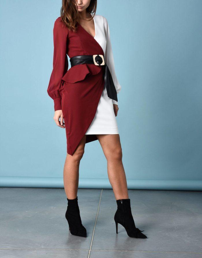 Модные сеты: с многослойным платьем футляр
