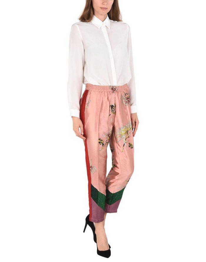 Модные сеты: с укороченные брюками с принтом
