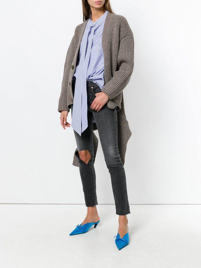 Модный сет: с асимметричным кардиганом