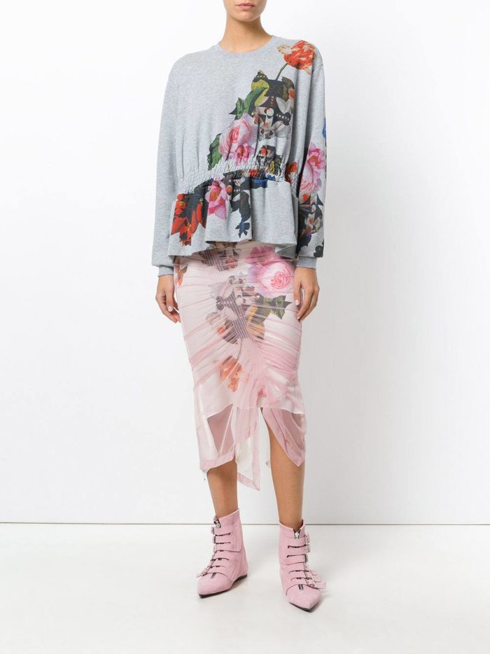 Модные сеты 2019-2020: с юбкой карандаш со сборкой и декором