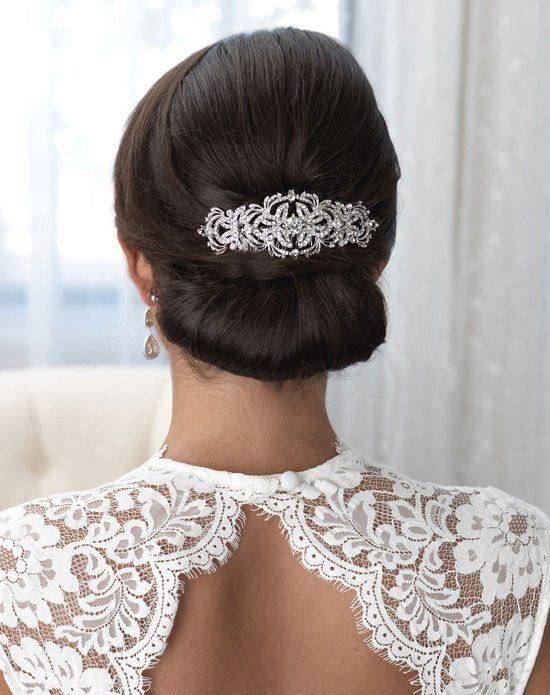 свадебная прическа собранными волосы