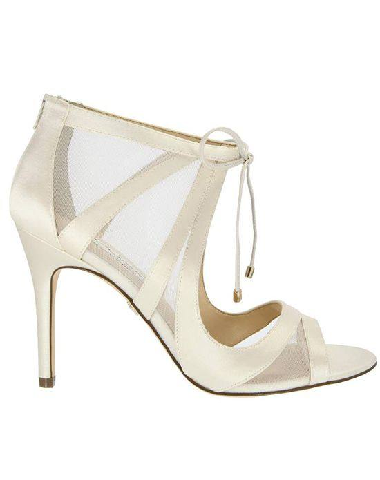 свадебные туфли с призрачными вставками