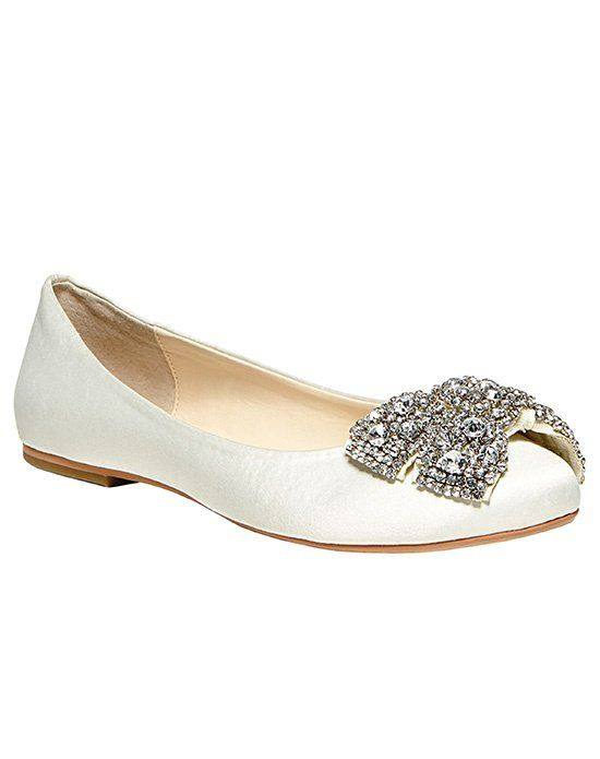свадебные туфли балетци с декором