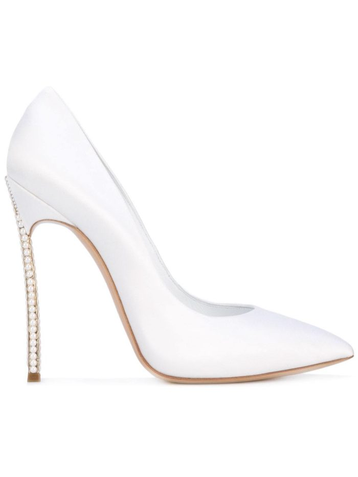 Свадебная мода: туфли на шпильке
