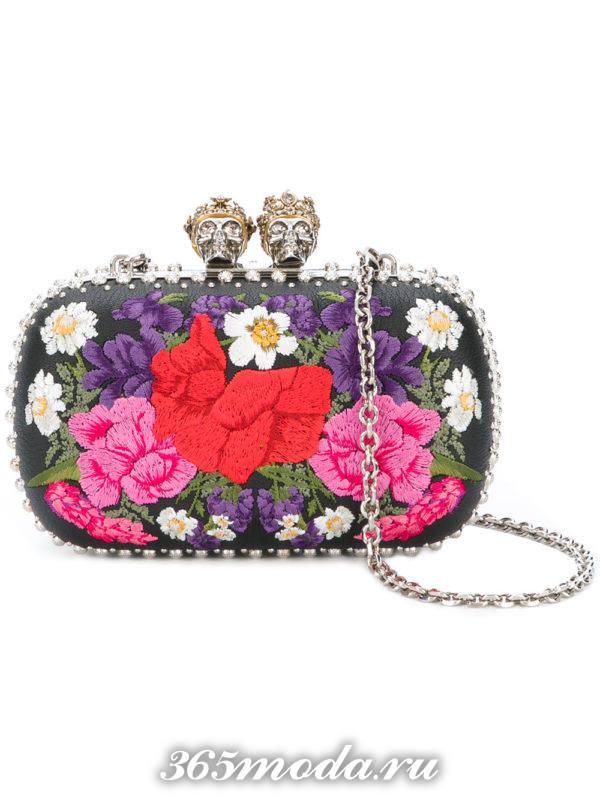 свадебная сумка с принтом