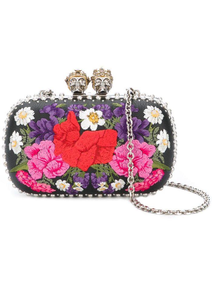 Свадебная мода: сумка с принтом