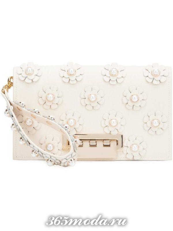 свадебная сумка клатч с декором