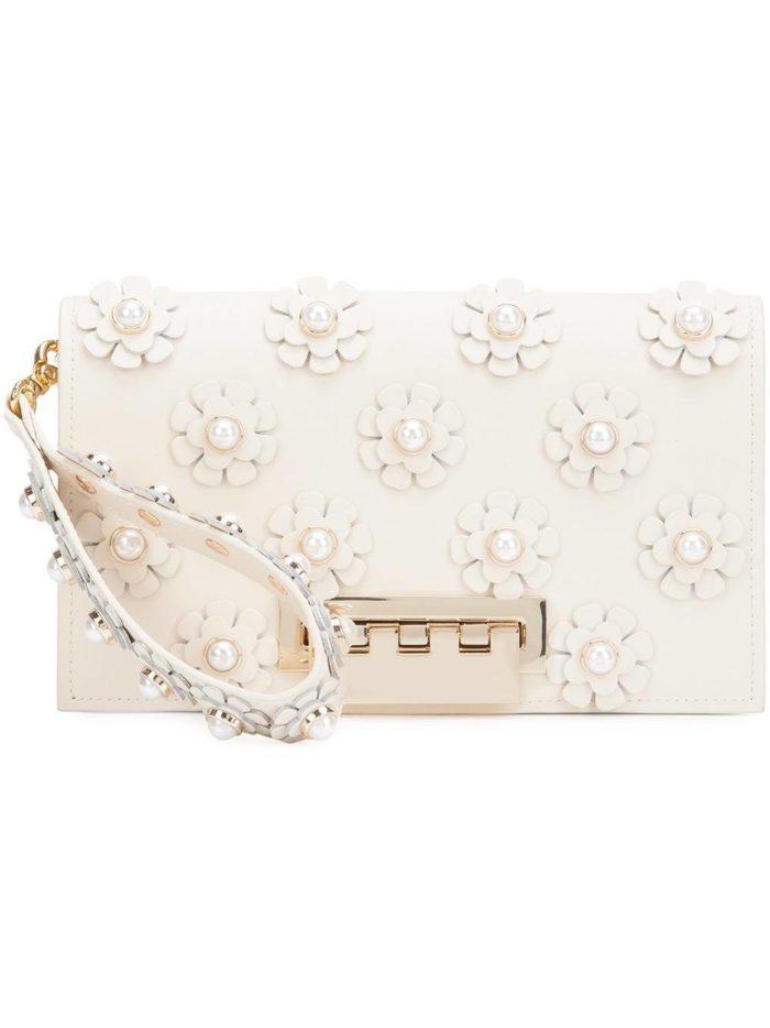 Свадебная мода: сумка клатч с декором