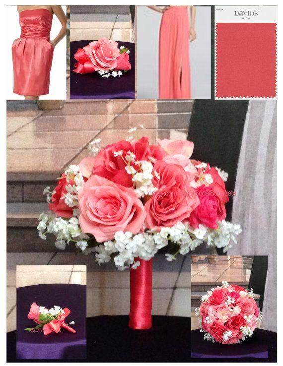 модная алая свадьба