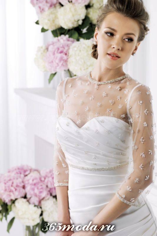 свадебная накидка с принтом