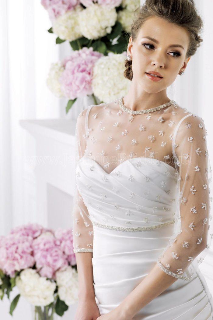 Свадебная мода: накидка с принтом