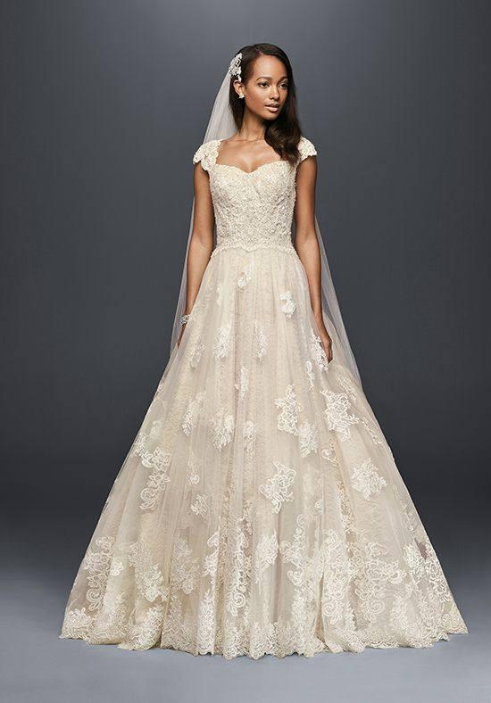 свадебное кружевное платье клеш белое
