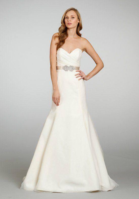 свадебное платье бюстье русалка