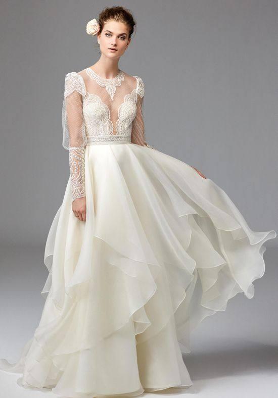 ad0dc0178ed Жми! Свадебные платья 2019-2020  75 фото модные тенденции