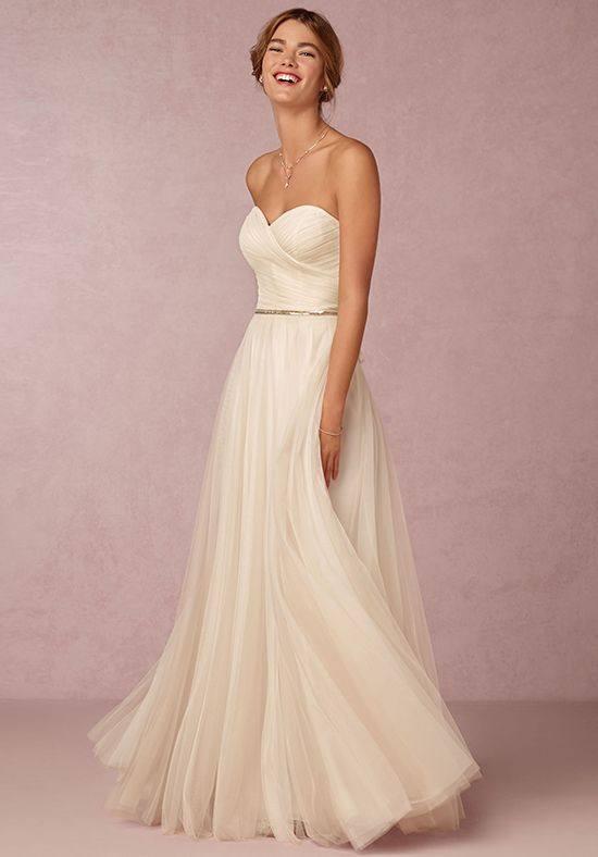 свадебное платье бюстье длинное с поясом