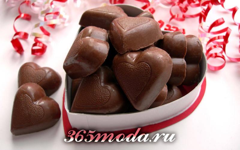 конфеты для Святого Валентина