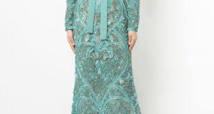 вечернее кружевное платье рыбка с бантом осень-зима