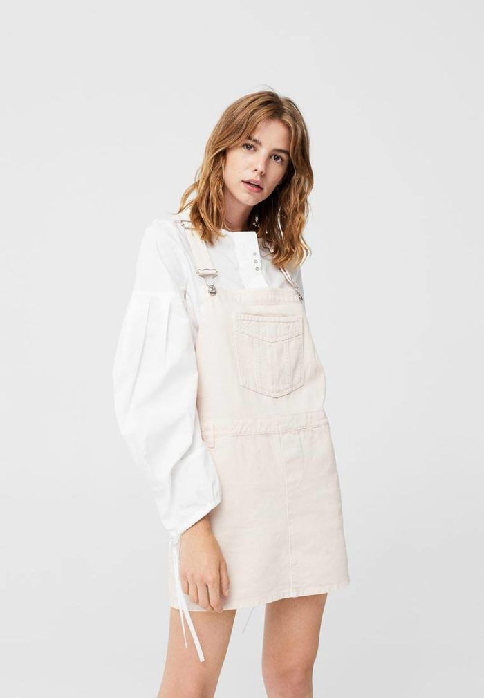 розовое платье сарафан осень-зима