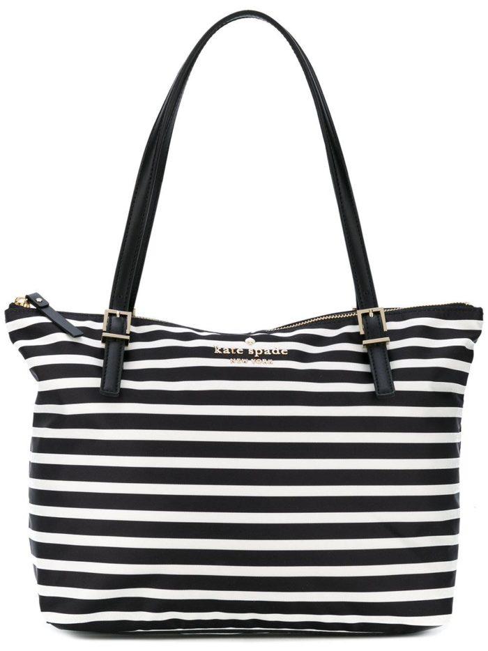 полосатая сумка