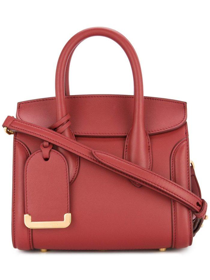 модная сумка цвета марсала